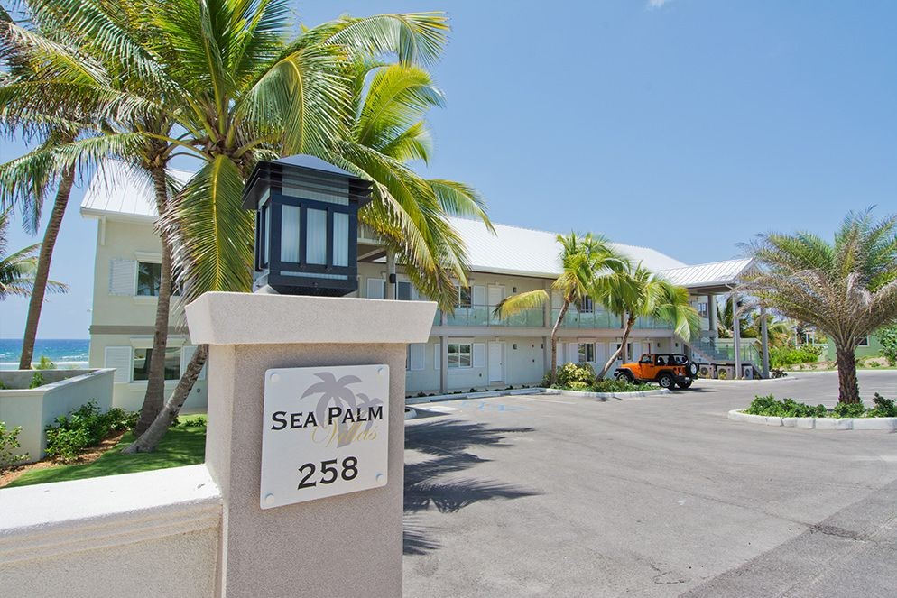 Front elevation photo gallery sea palm villas cayman islands for Villas elevations photo gallery